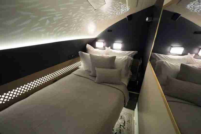 Etihad A380 The Residence - Empty Bed