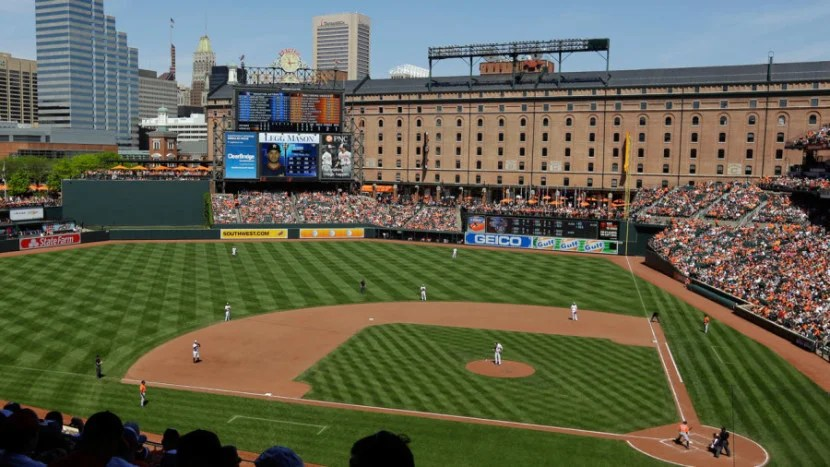Oriole Park in Baltimore, Maryland. Photo courtesy of the stadium.