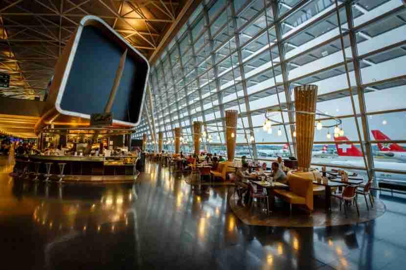 Zurich Airport. Photo courtesy of Shutterstock