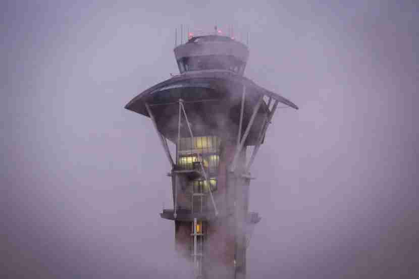 ATC at LAX - in case of bad weather having lounge access is a life saver