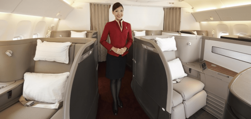 You can use your Alaska miles for Cathay Pacific first class, including a stopover in Hong Kong!