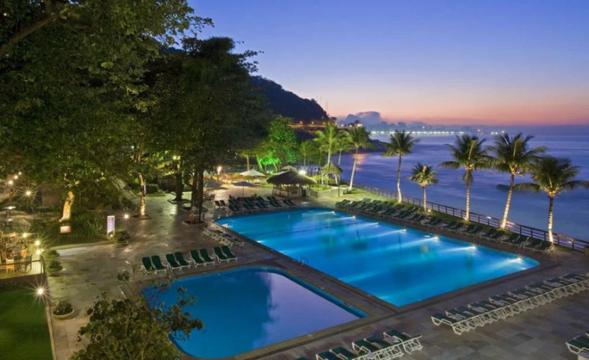 The Sheraton Grand Rio is one of three hotels outside Asia.