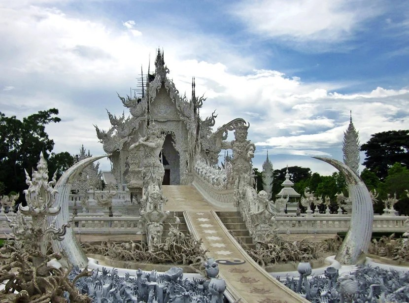 Make sure to pace yourself when viewing temples to avoid burnout. Then you can really appreciate seeing them, like this temple in Chiang Rai, Thailand.