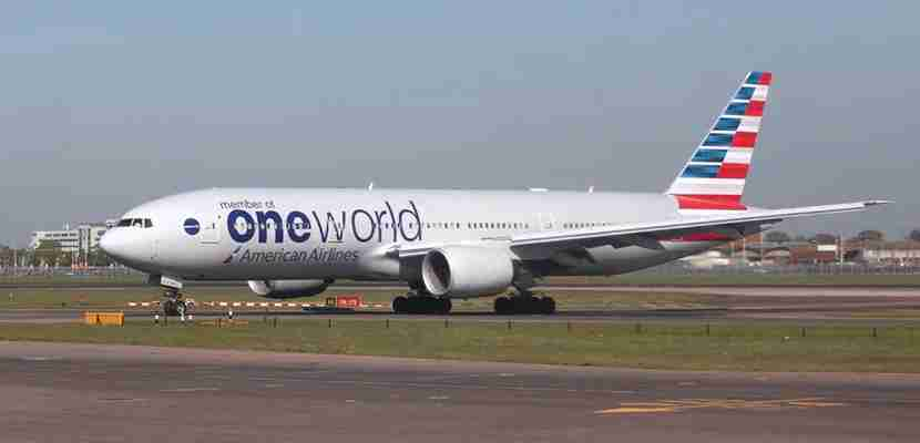 American Airlines OneWorld featured