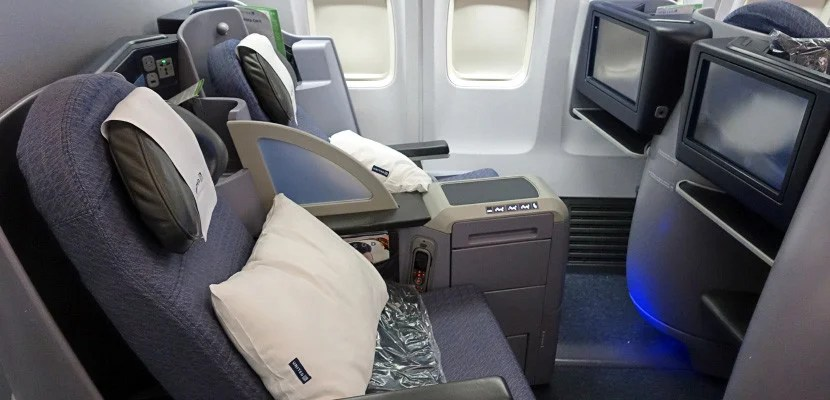 Global Service members' companions could get a complimentary bump into business class.