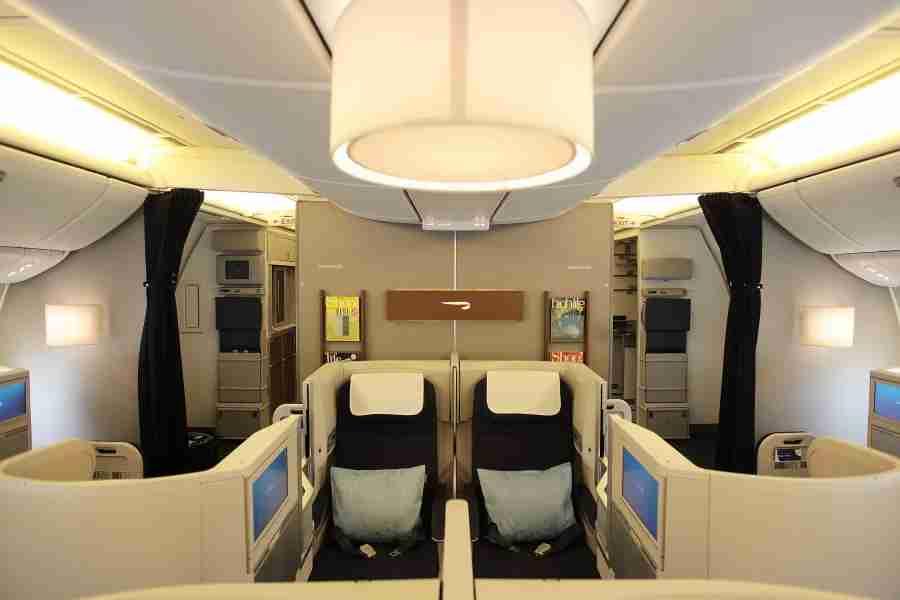 New Club World aboard the Boeing 777-300ER. Photo by Nick Morrish/British Airways.