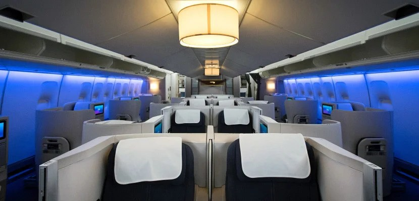 Business class on BA's refreshed 747.
