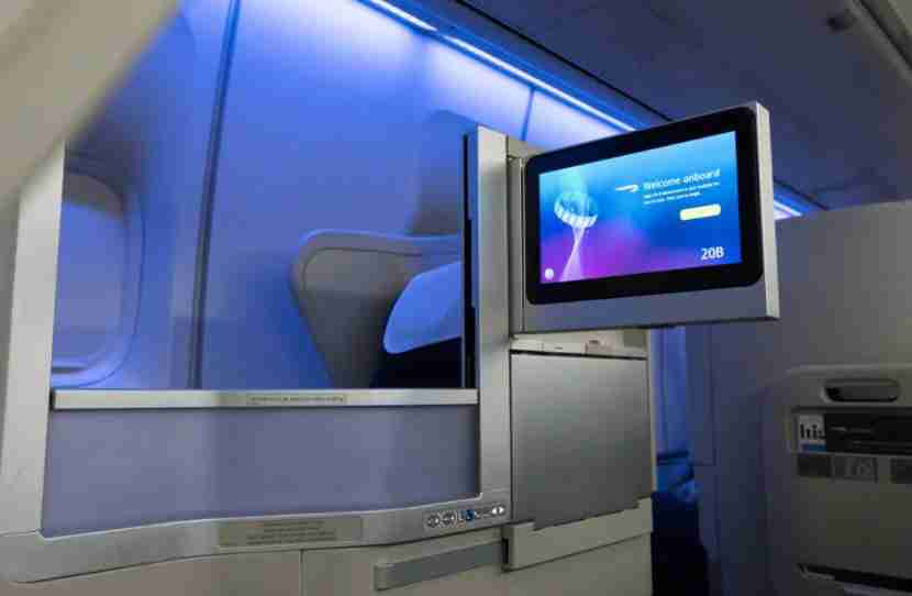 A new business-class seat on BA