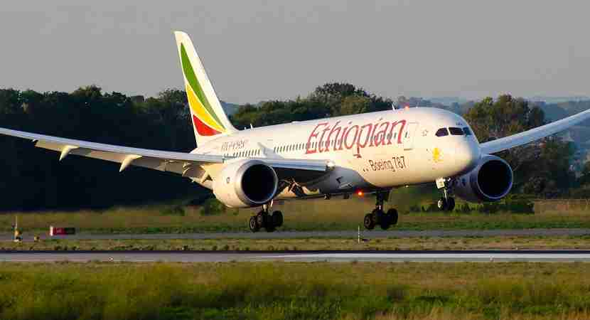 Ethiopian Airlines flies Los Angeles to Dublin three times per week.