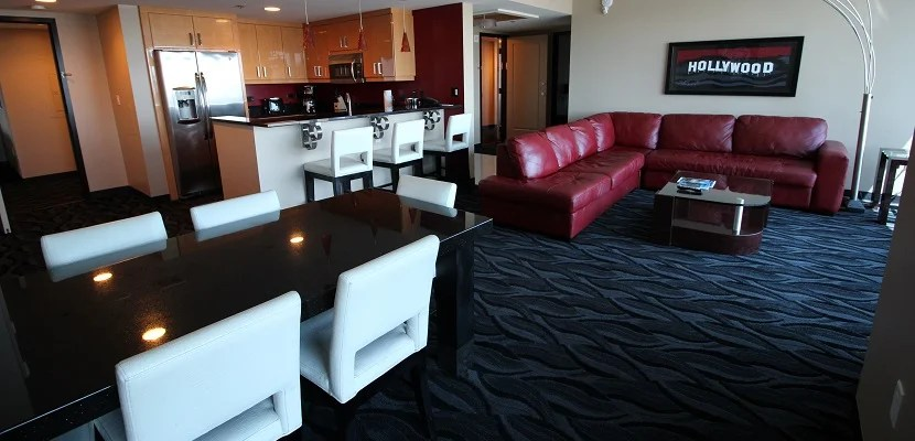 6 roomy las vegas suites you can book with points