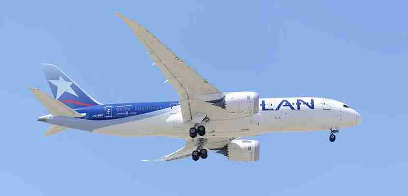 LAN is a Oneworld partner with American Airlines and British Airways.
