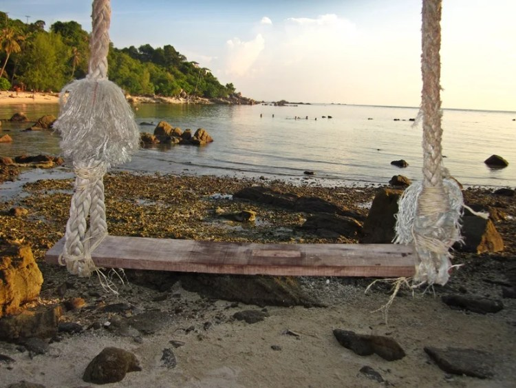 Don't overplan. Find a few amazing spots to visit and enjoy them, like Secret Beach on the Thai island of Koh Phangan