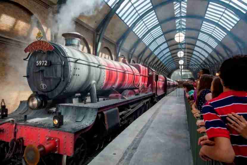Guests can ride the Hogwarts Express at Universal Orlando resort. (Photo courtesy Universal.)