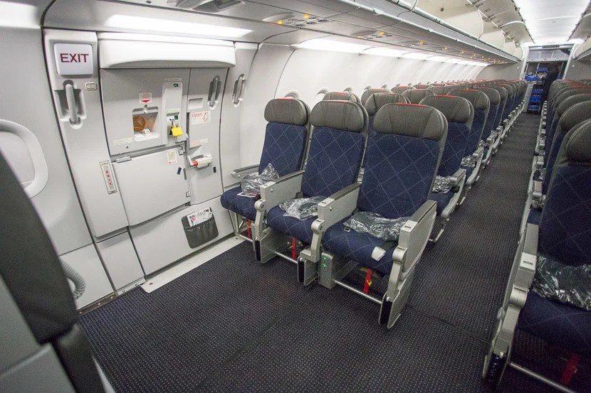 If you can score a seat in the bulkhead, you'll have virtually unlimited legroom.
