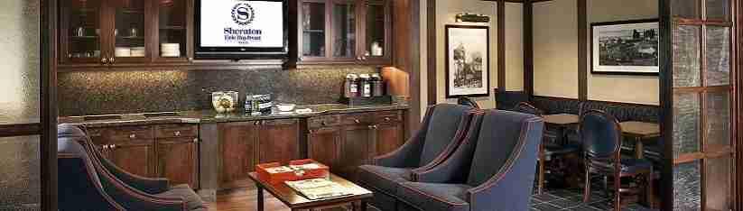 Sheraton Club lounge access is pretty sweet!