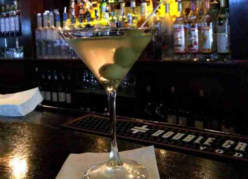 Martini perfection at Delmonico