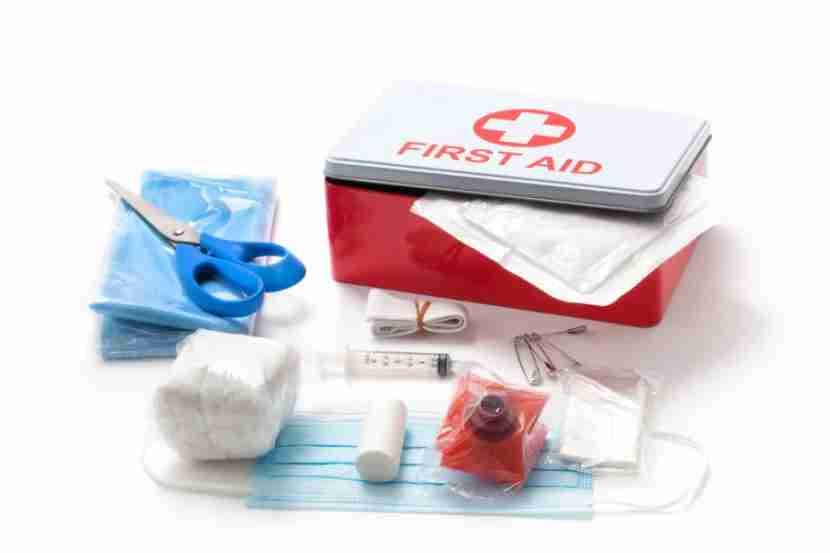 Speak softly and carry a big first aid kit. Image courtesy of Shutterstock.