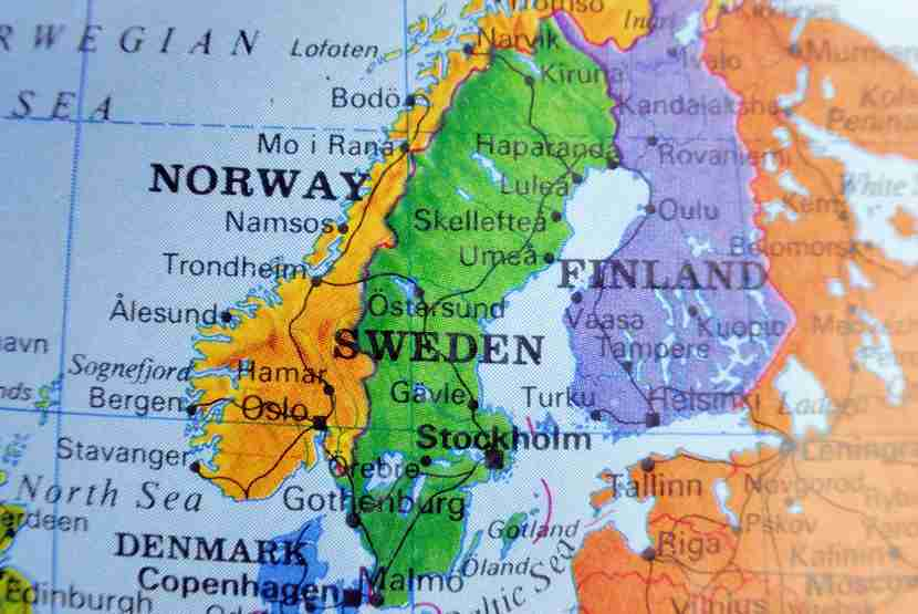 Scandinavia is a long way from the US, but happily, three of its capitals are close together. Photo courtesy of Shutterstock.