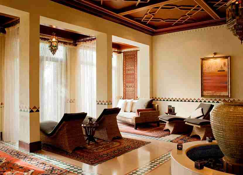 Timeless Spa at Al Maha features Bedouin-inspired decor throughout. Photo courtesy of Al Maha Facebook.