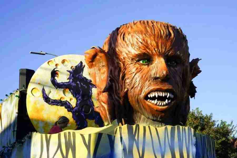 The Krewe of Boo parade is one of New Orleans