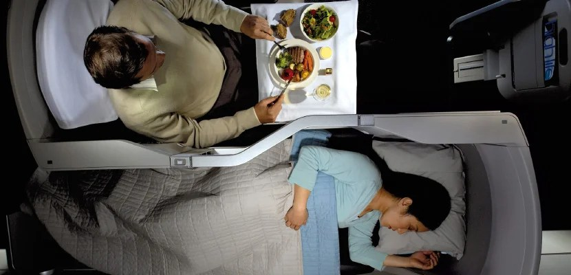 11 Best Business-Class Seats For Couples