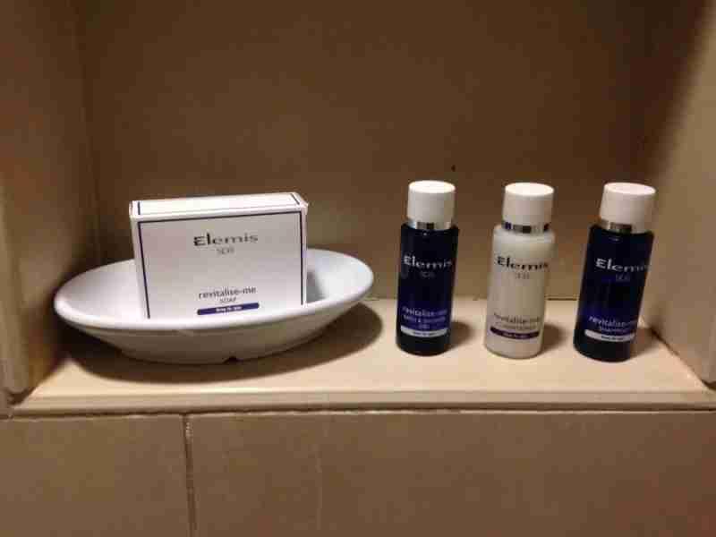 Equinox bath amenities