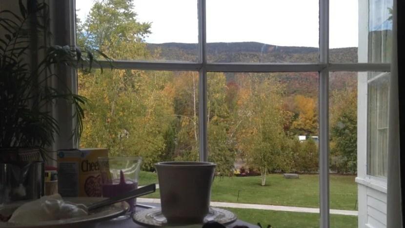 Equinox breakfast view