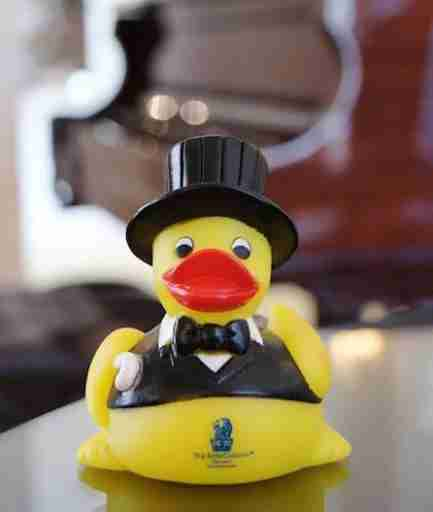 I got my son a Ritz-Carlton Duck with my $100 credit. Photo courtesy The Ritz-Carlton Orlando, Grande Lakes.