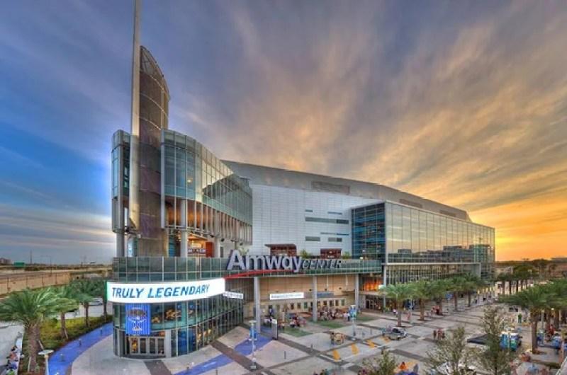 Amway Center in Orlando, Florida.