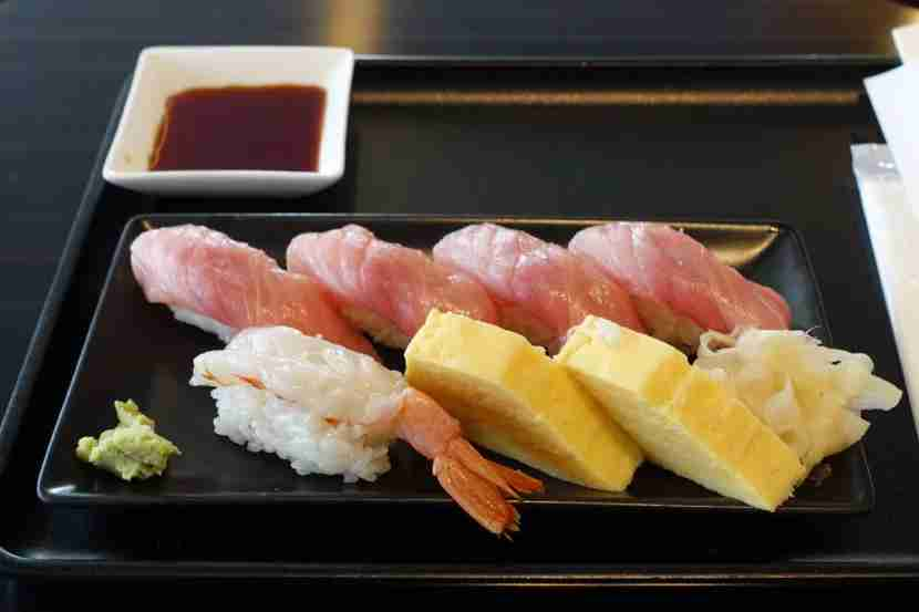 Quite possibly the best sushi I