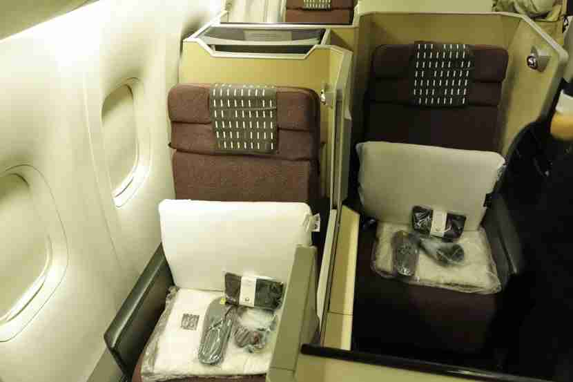 JAL 777-300ER Sky Suite business class.