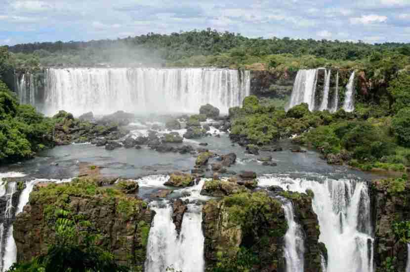 A trip to Iguazu Falls in Brazil! Photo courtesy of Shutterstock.