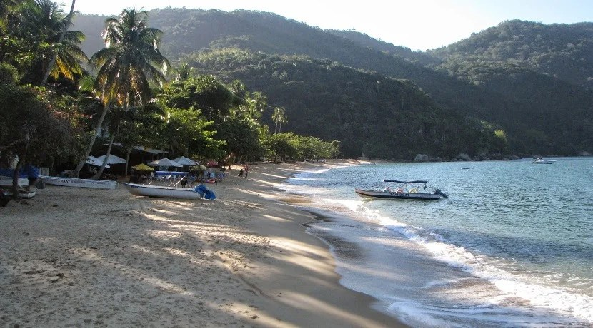 Experience the incredible beaches of Brazil, like this remote beach on Ilha Grande. Photo by the author.