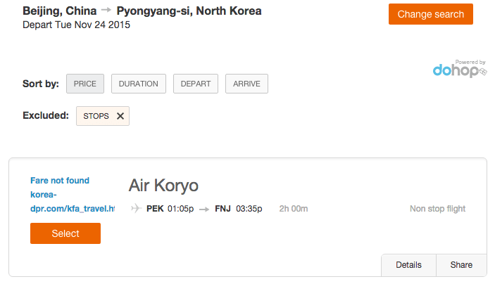 Flight Review: Air Koryo in Economy – Beijing to Pyongyang