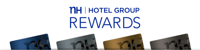 The four elite tiers of NH Rewards — Blue, Silver, Gold and Platinum.