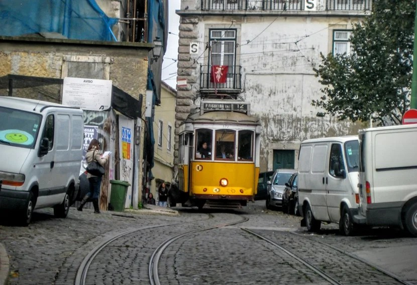 Taking trams around Lisbon is not only a fun way to get around but a very cool experience in iteself