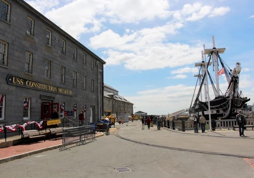 """Pay """"Old Ironsides"""" a visit if you happen to be in Boston. Photo courtesy of: U.S.S. Constitution Museum."""