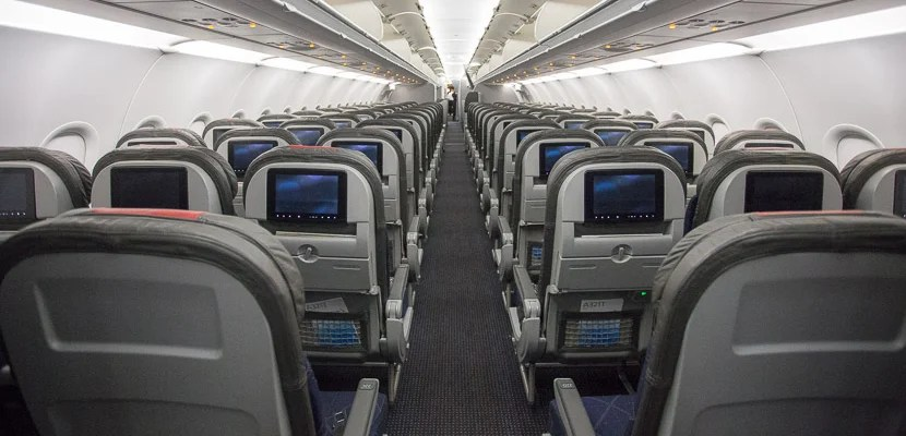 Flight Review American A321t In Economy Main Cabin Extra