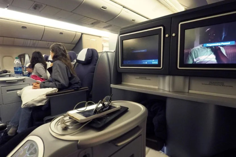 You might end up making eye contact with strangers on United's planes.