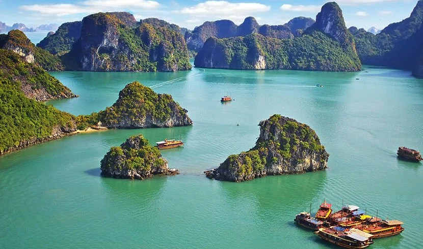 Travel with Black Tomato to Vietnam's Halong Bay.