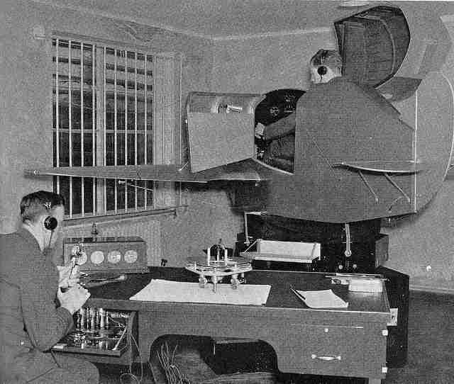 Simulator training in the 1950s