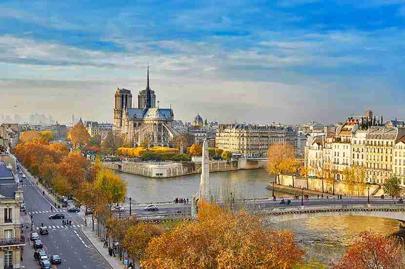 Paris in the fall is hard to beat.