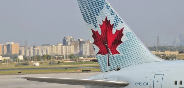 Air Canada will add a revenue requirement for 2017.