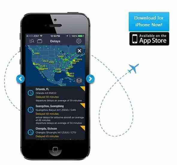 FlightAware will help you track delays.