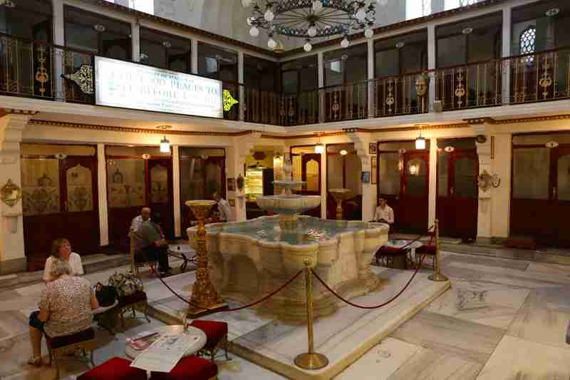 Cagaloglu Hammam was named in the Top 1000 Places to See Before You Die