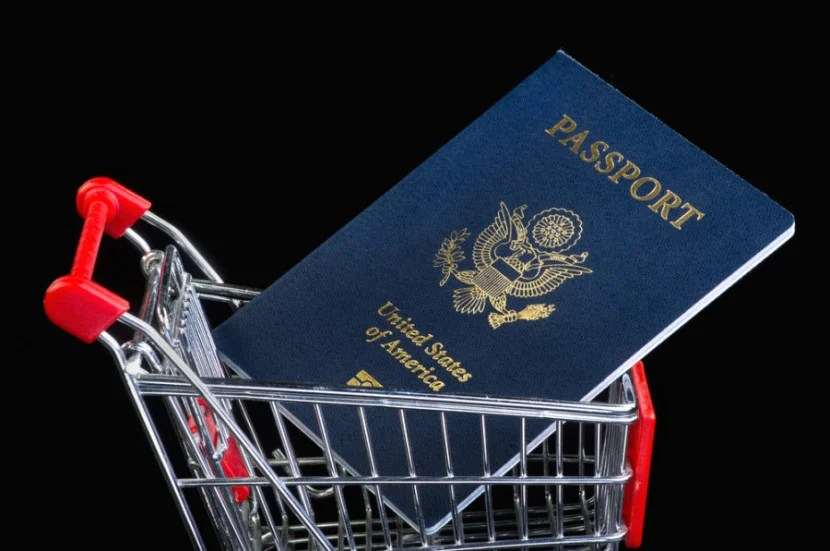 Want that VAT refund? Make sure to bring your passport when you shop. Image courtesy of Shutterstock.