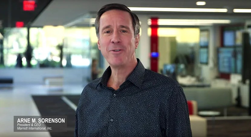 Marriott CEO Arne Sorenson.