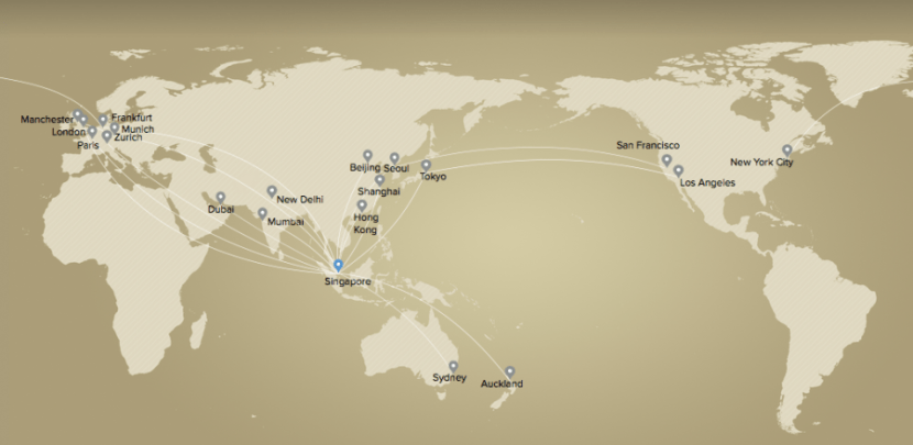 Singapore will eventually fly premium economy on these routes...once the rollout is resolved.
