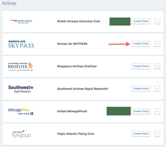 UR Airline Partners KE