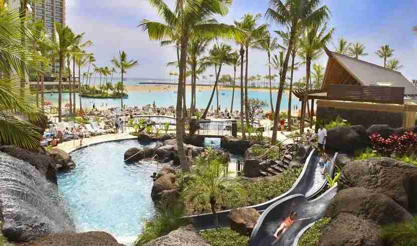 A trip to The Hilton Hawaiian Village Waikiki Beach Resort could be the bonus after business class to South America!